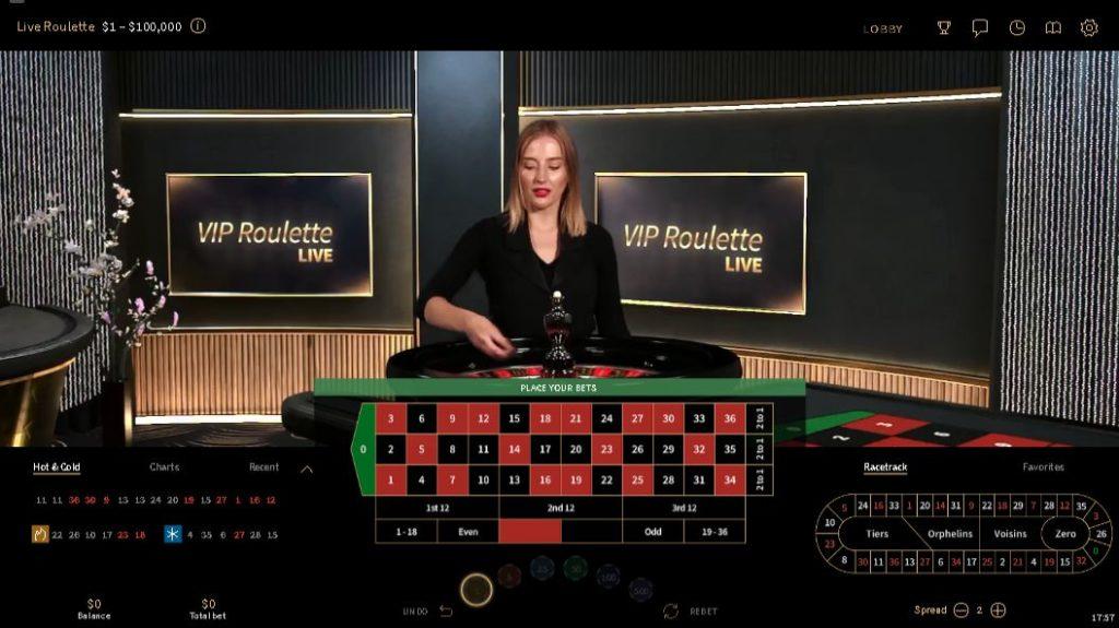 Live VIP Roulette