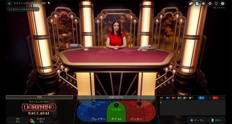 casinosecret_Lihtning Baccarat